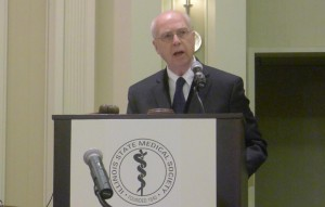 wshf President, William N. Werner, MD, MPH, Inaugurated Illinois State Medical Society President.